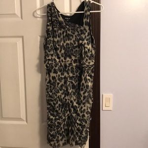 ✨Leopard print dress. ONLY WORN ONCE!